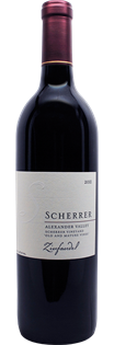 Scherrer Winery Zinfandel Old and Mature Vines 2012 750ml